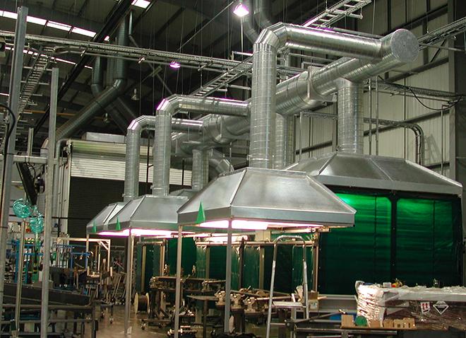 Общеобменная вентиляция — система для всех помещений