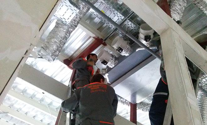 Монтаж вытяжной вентиляции — установка приточно вытяжной вентиляции в квартире