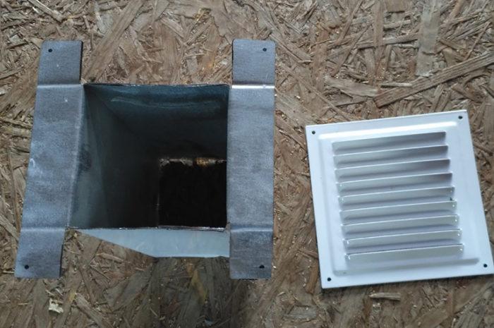 Виды вентиляционных отверстий, размеры