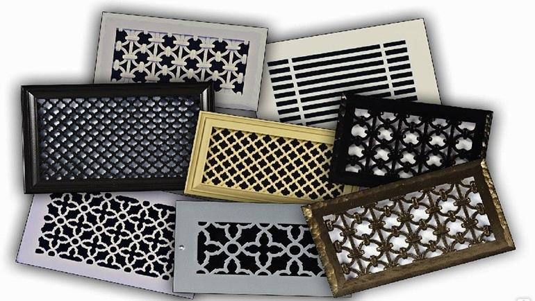 Вентиляционные решетки декоративные