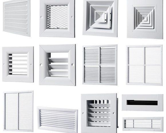 Пластиковые решетки для вентиляции